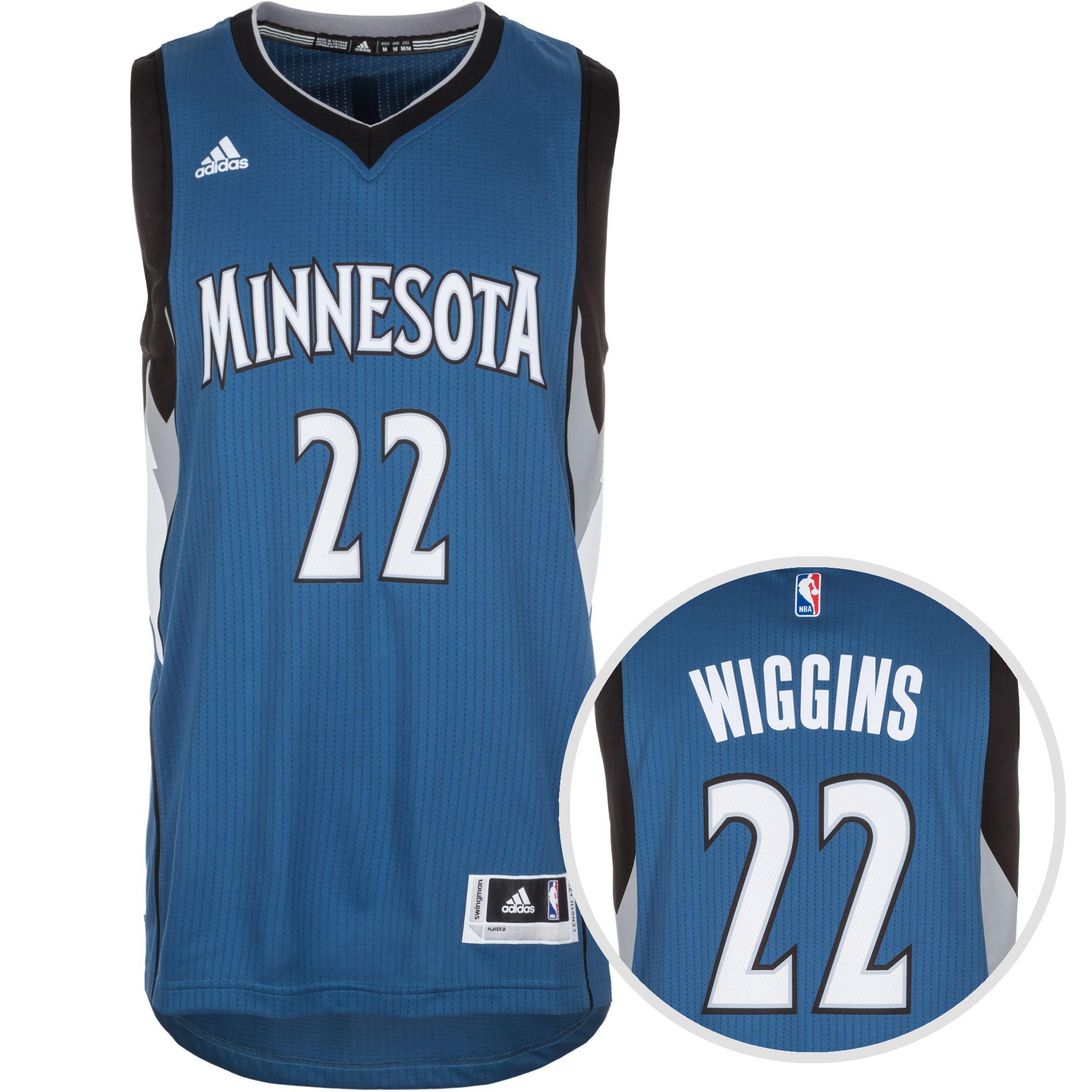 ADIDAS PERFORMANCE adidas Performance Minnesota Timberwolves Wiggins Swingman Basketballtrikot Herren
