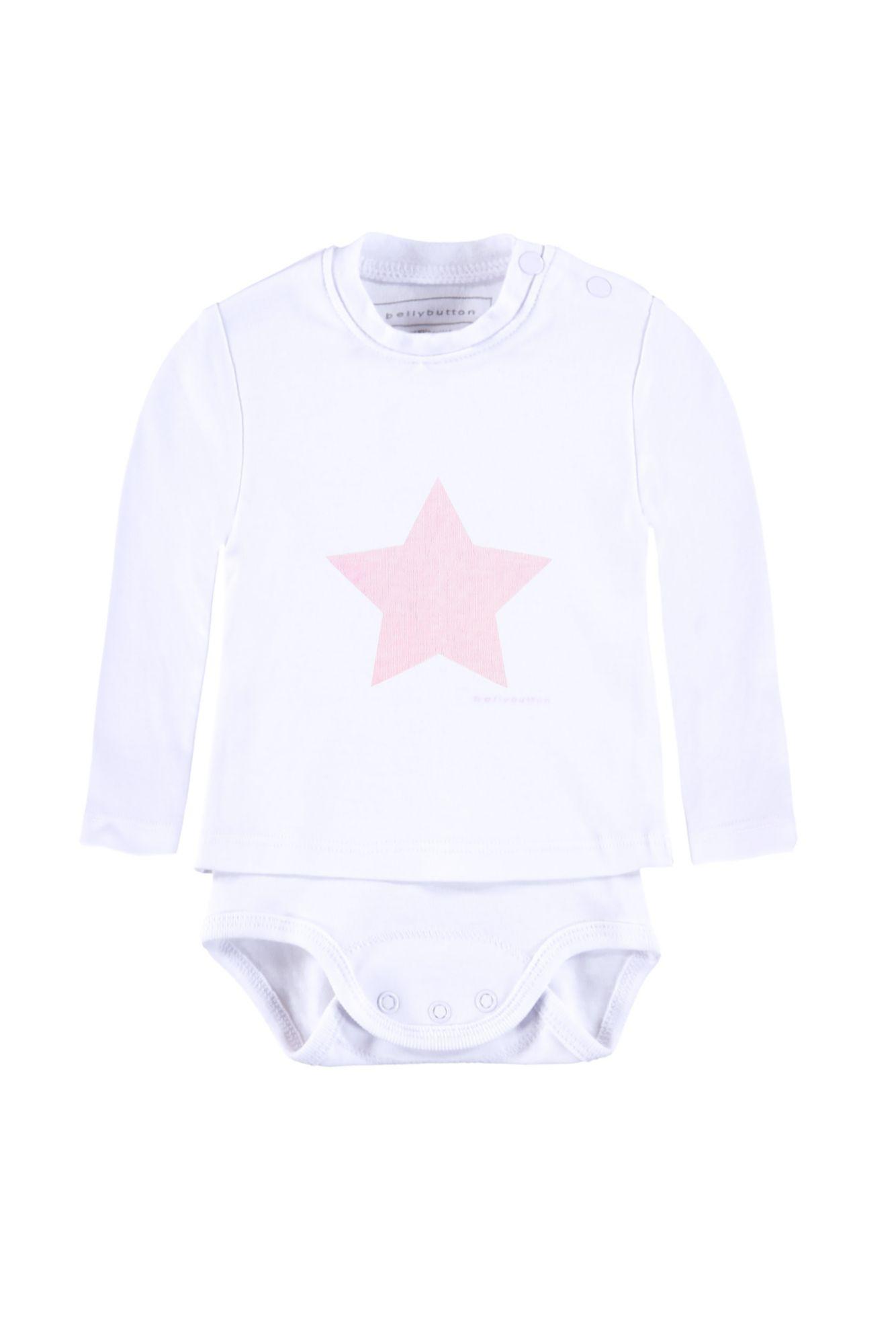 BELLYBUTTON  2in 1 Body mit Shirt »mit Stern«