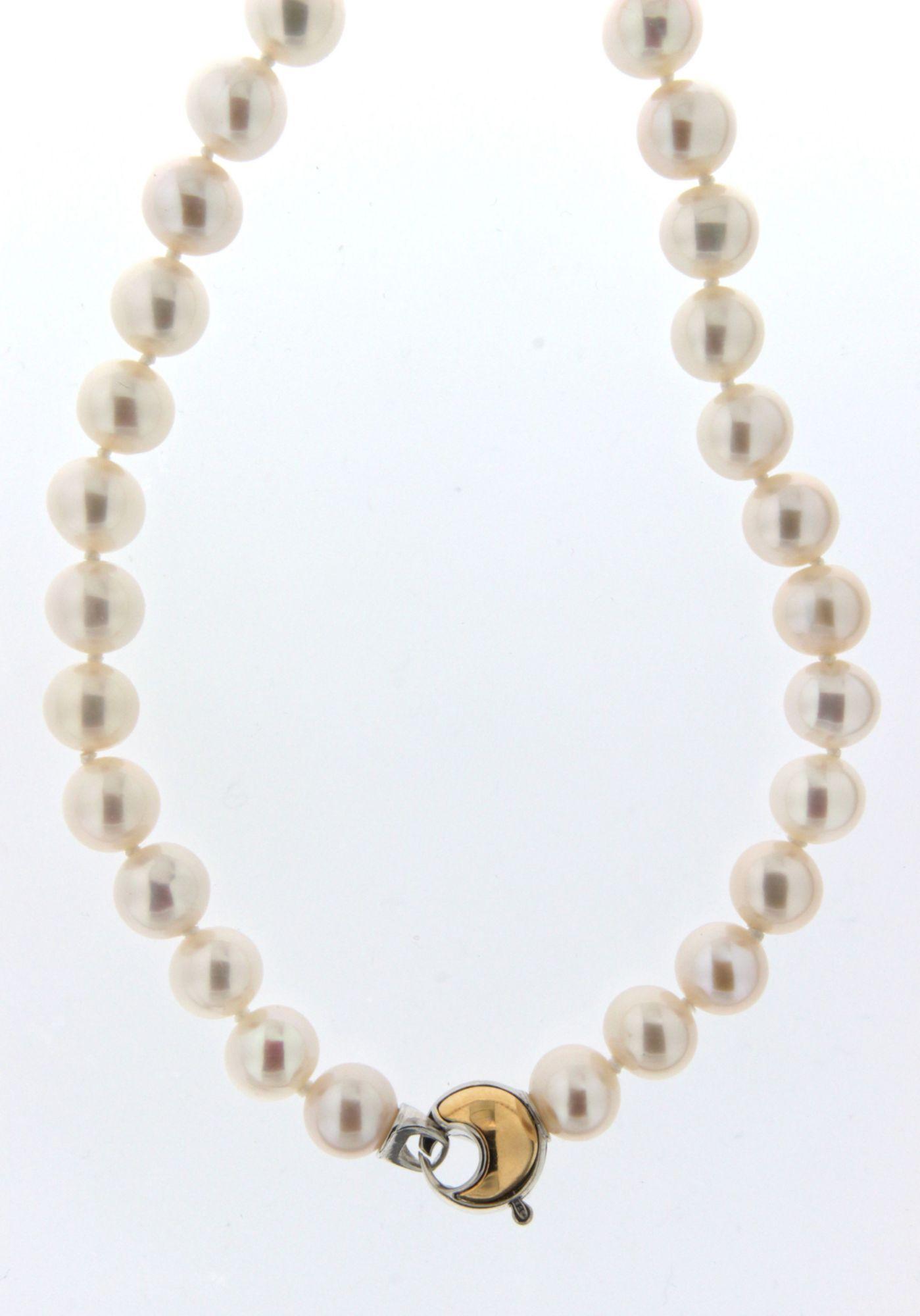 ADRIANA Adriana Perlenkette, »La mia perla A2839-KSW70-SIV/Ba«