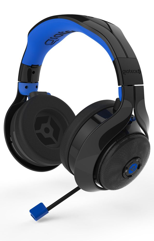 GIOTECK Gioteck Flow 400 wireless Headset mit RF Schwarz/Blau »PS4 PS3 PC Tablet/Smartphone«