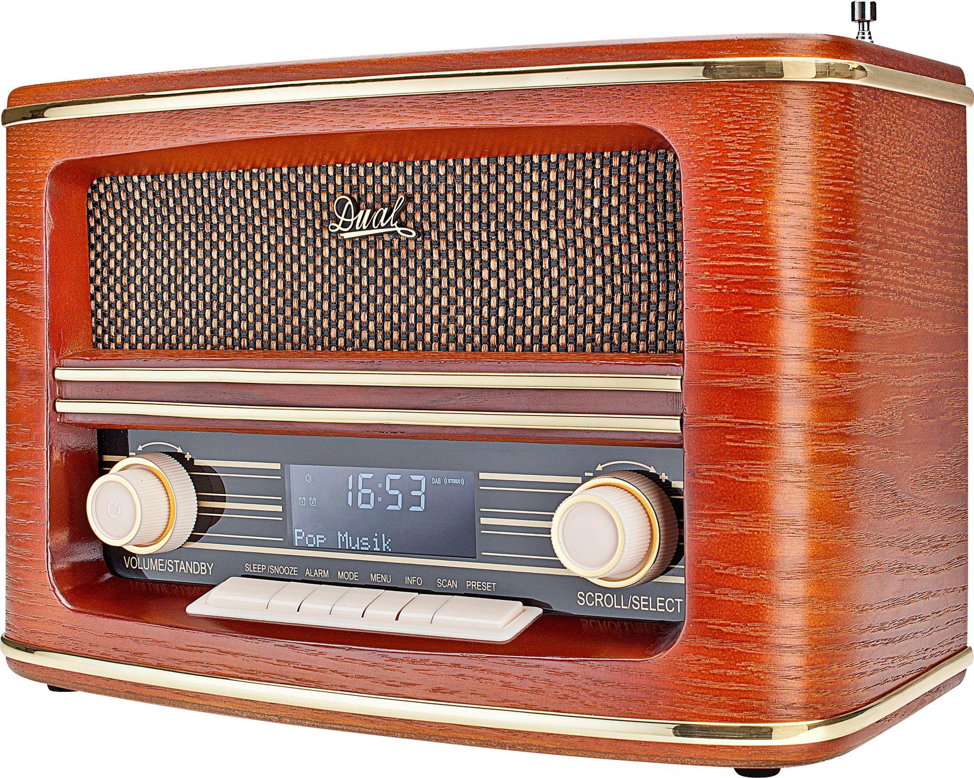 DUAL Dual NR 1 DAB Stereoanlage, Digitalradio (DAB+), RDS