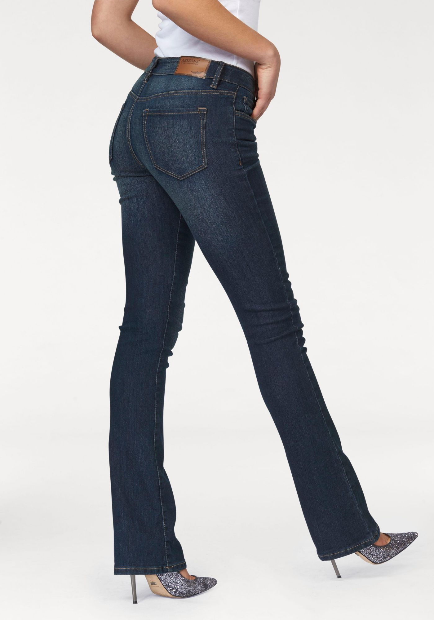 ARIZONA Arizona Bootcut-Jeans »Baby-Boot«