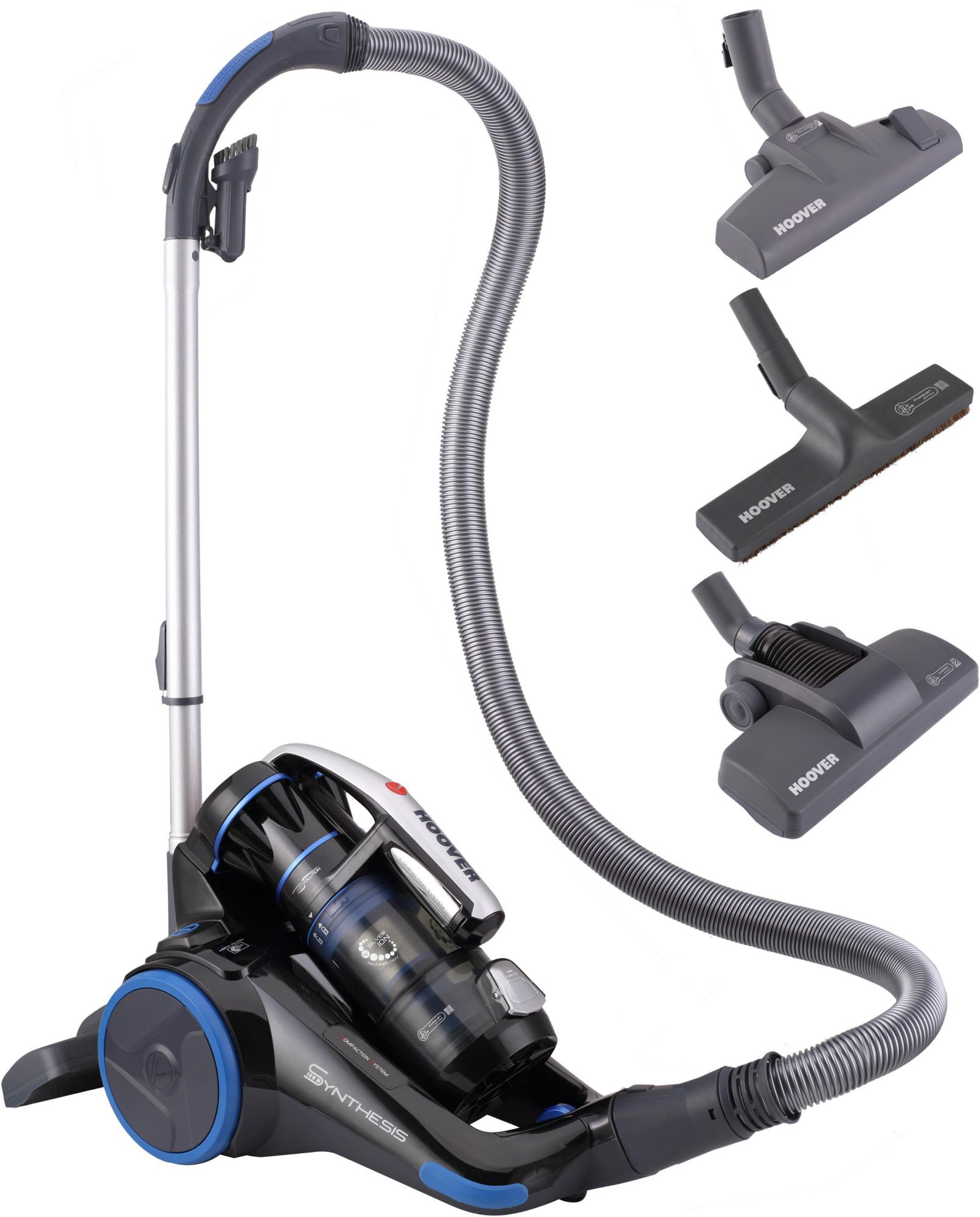 HOOVER Hoover Bodenstaubsauger Synthesis ST71_ST10, beutellos, Energieklasse A