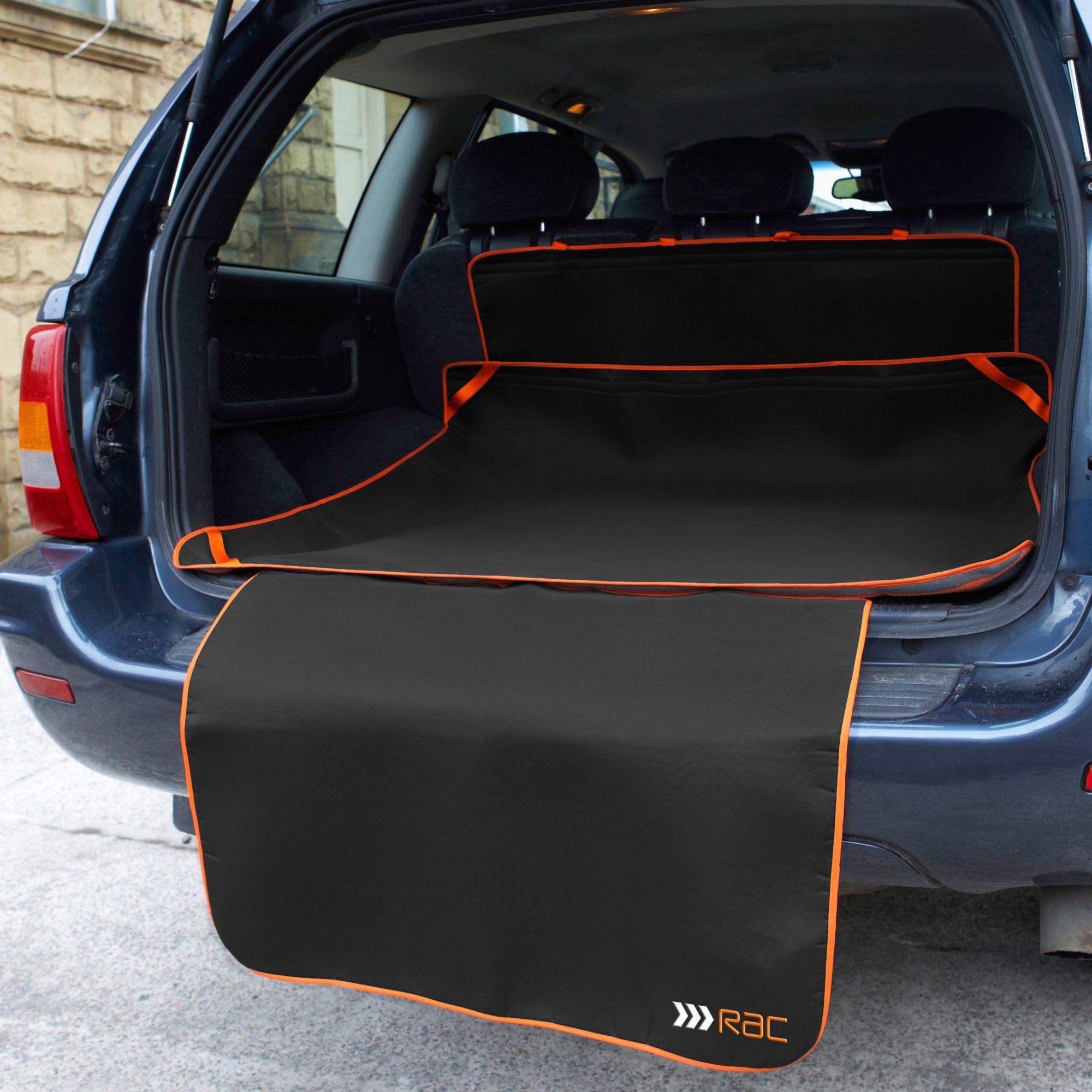HEIM Automatte »RAC Kofferraummatte mit Stoßstangenschutz«