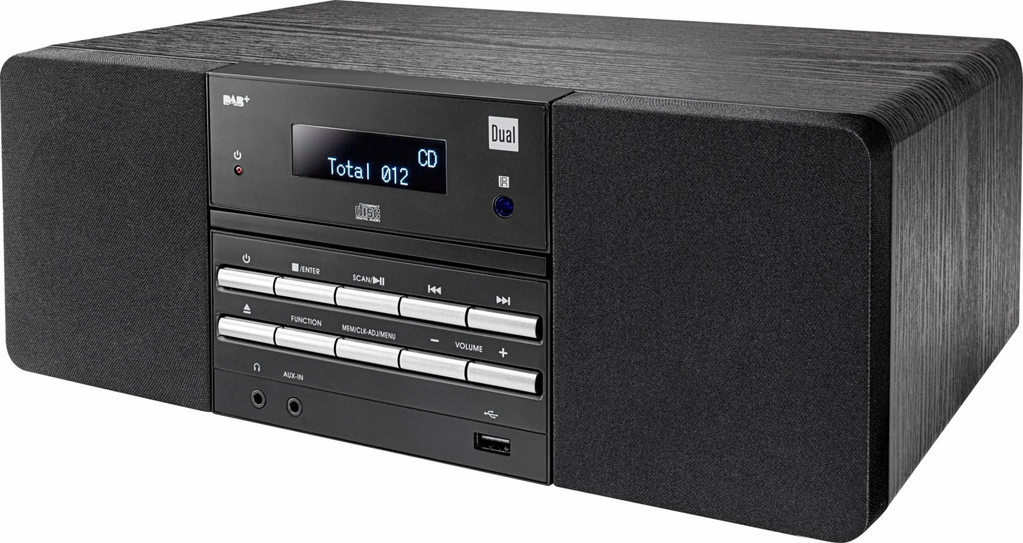 DUAL Dual DAB 400 Microanlage, Digitalradio (DAB+), RDS, 1x USB