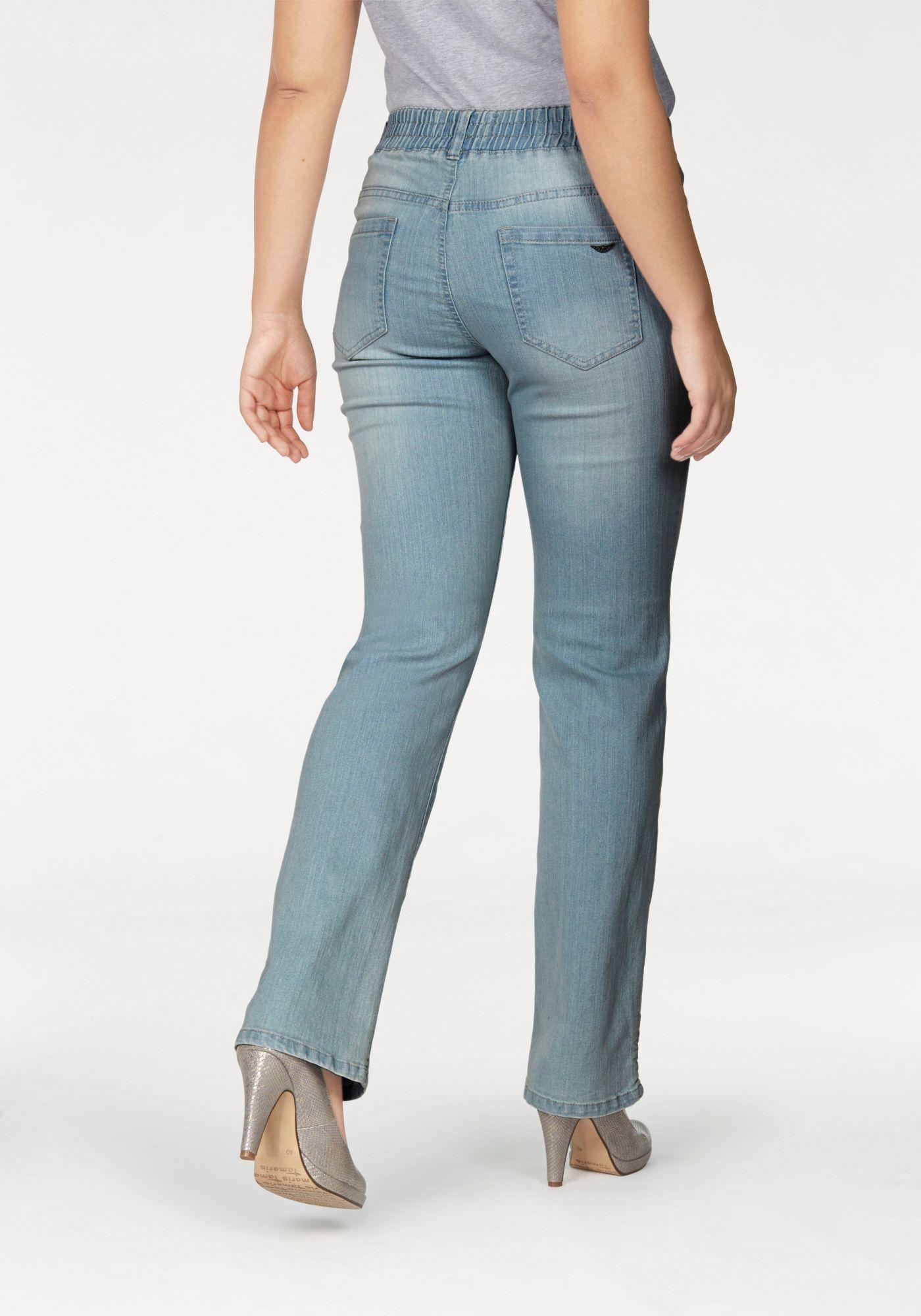 ARIZONA Arizona Gerade Jeans »mit Schlupfbund«