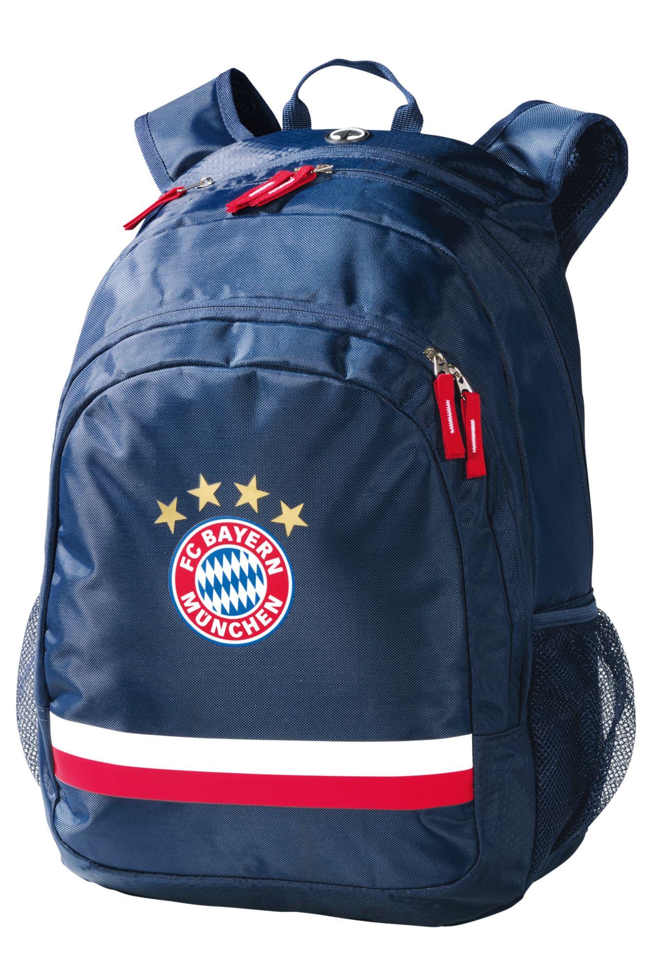 FC BAYERN FC Bayern München Rucksack mit Laptopfach 15 Zoll, »Rucksack Logo navy«