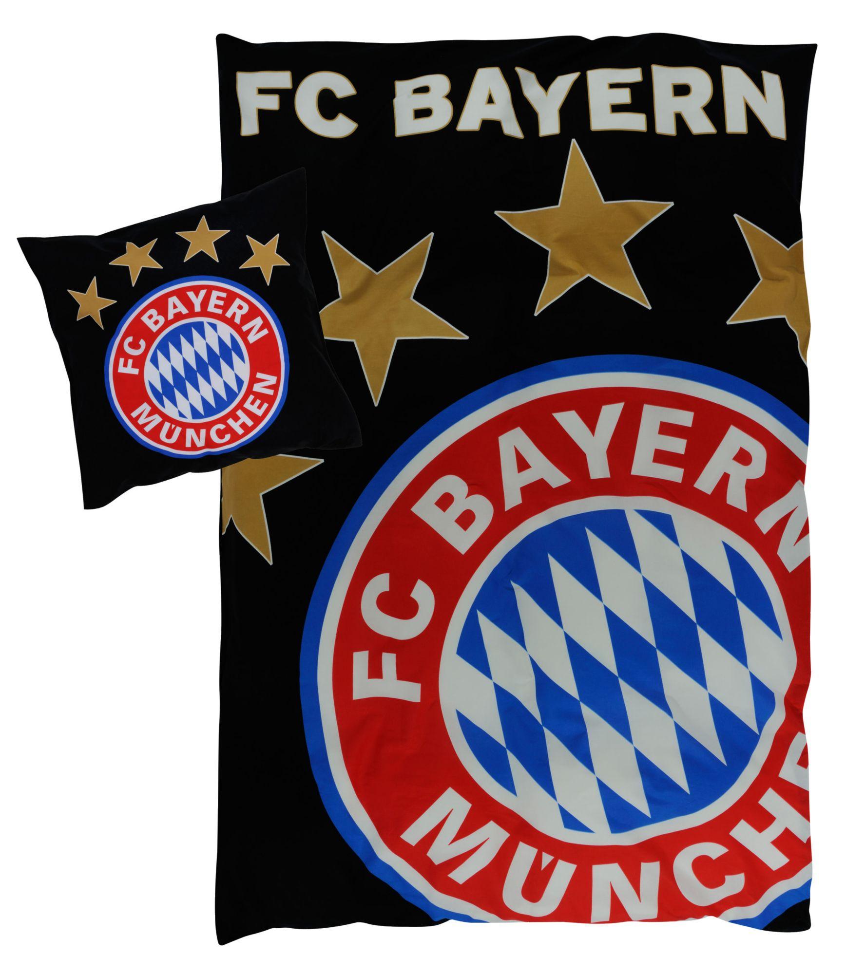 FC BAYERN Bettwäsche, FC Bayern München, »Glow«, floureszierend