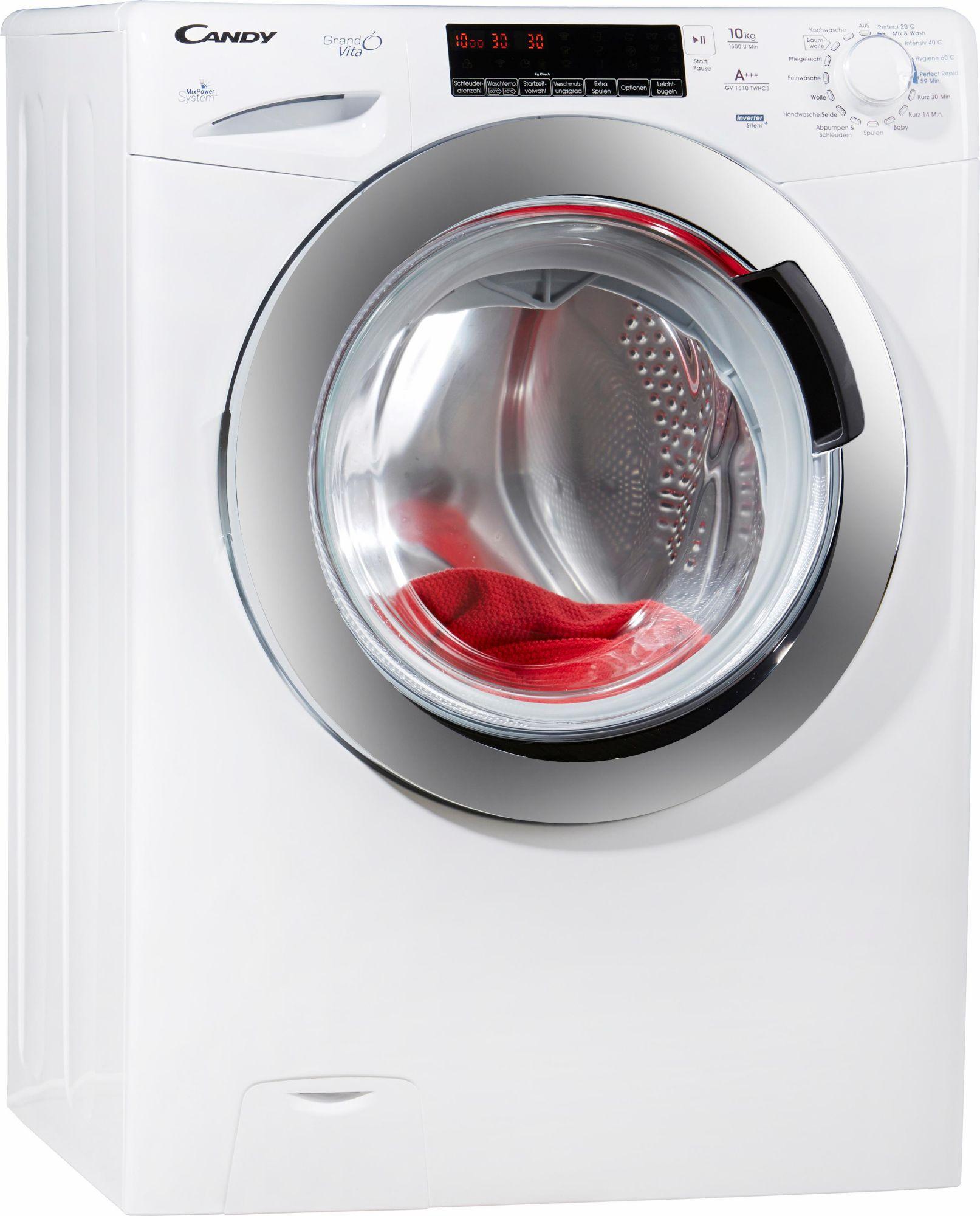 CANDY Candy Waschmaschine GV 1510 TWHC 3, A+++, 10 kg, 1500 U/Min