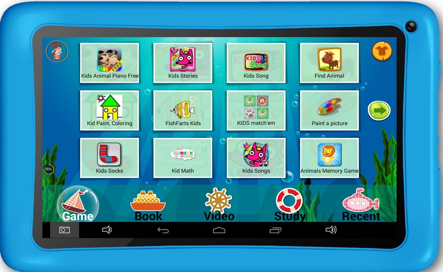 AXXO AxxO Android Tablet für Kinder »ST-214«