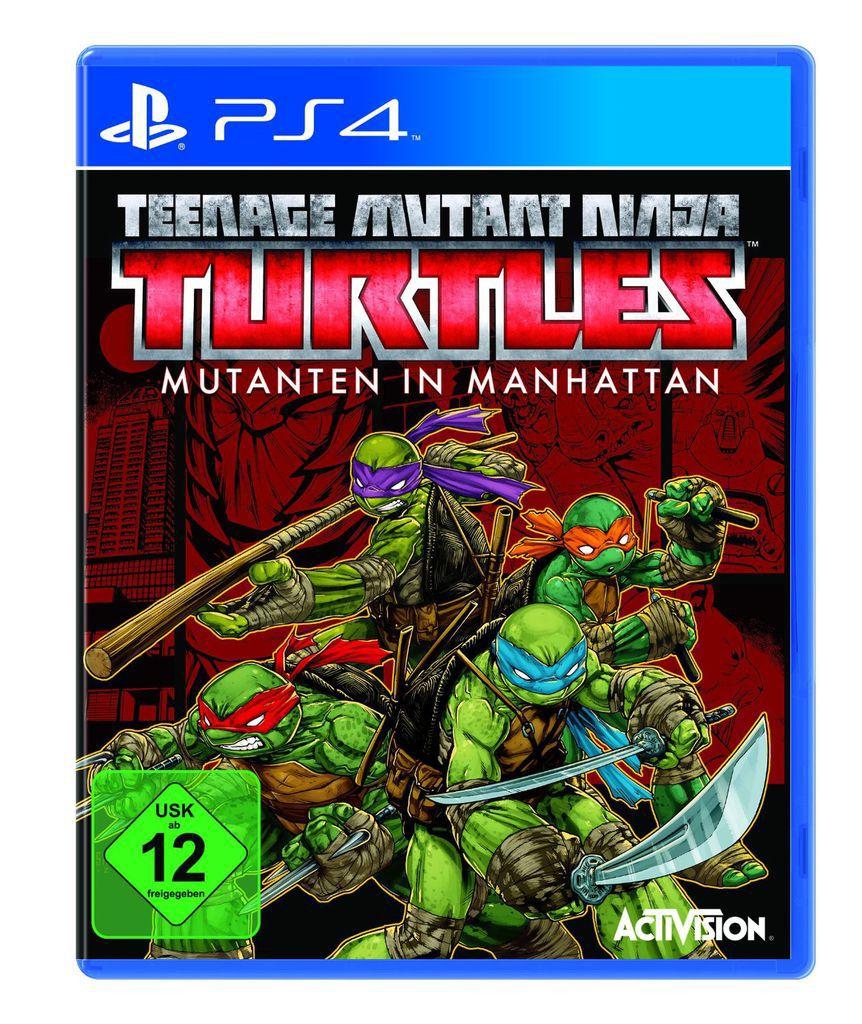 ACTIVISION Activision Playstation 4 - Spiel »Teenage Mutant Ninja Turtles: Mutanten in Manhatta«