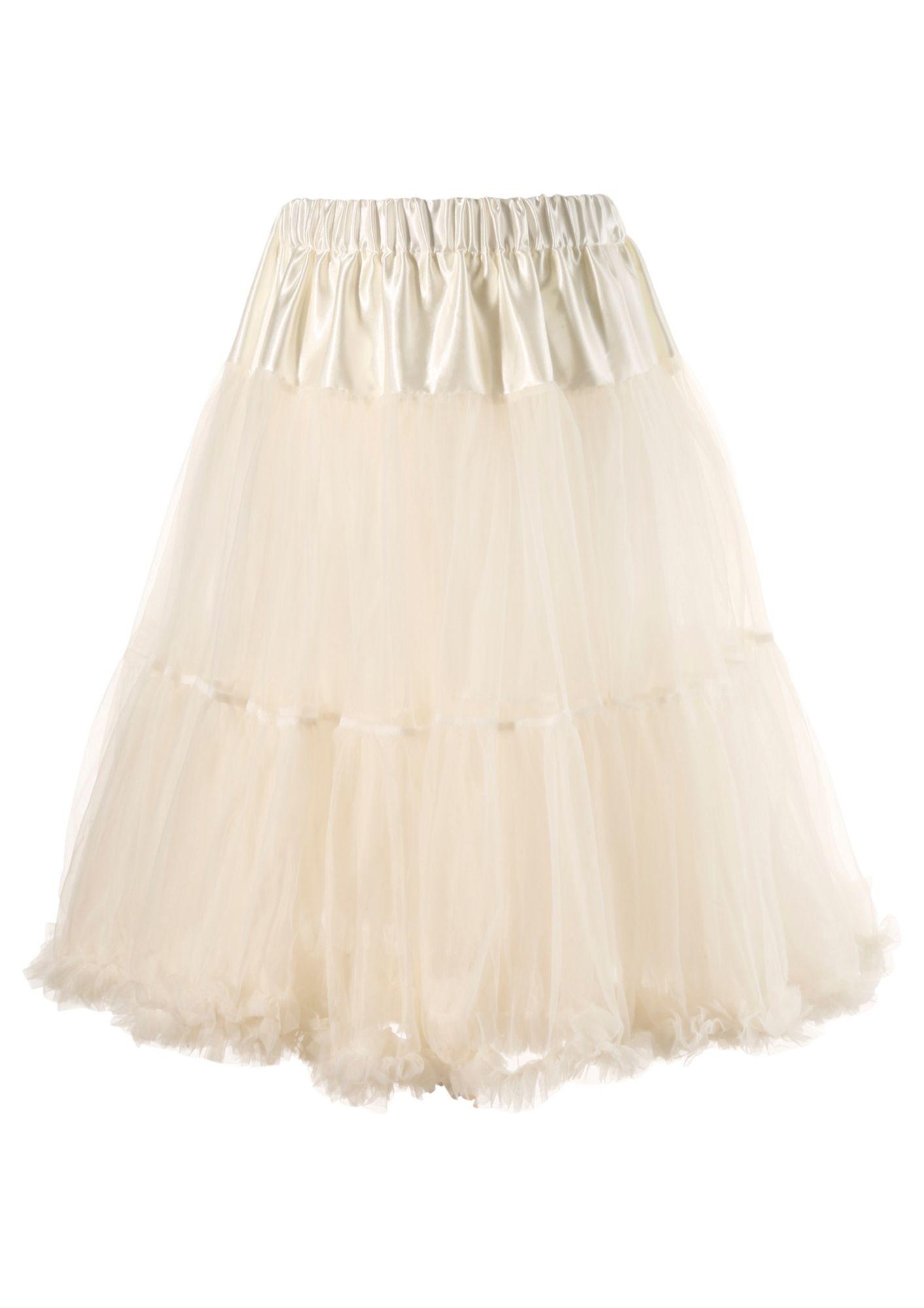 MARJO Petticoat Länge ca. 70 cm, Marjo