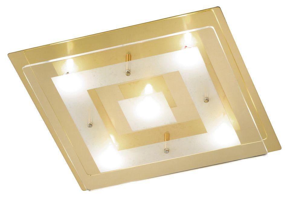 HONSEL LEUCHTEN Honsel Leuchten LED-Deckenleuchte, 5flg., »Lamei«