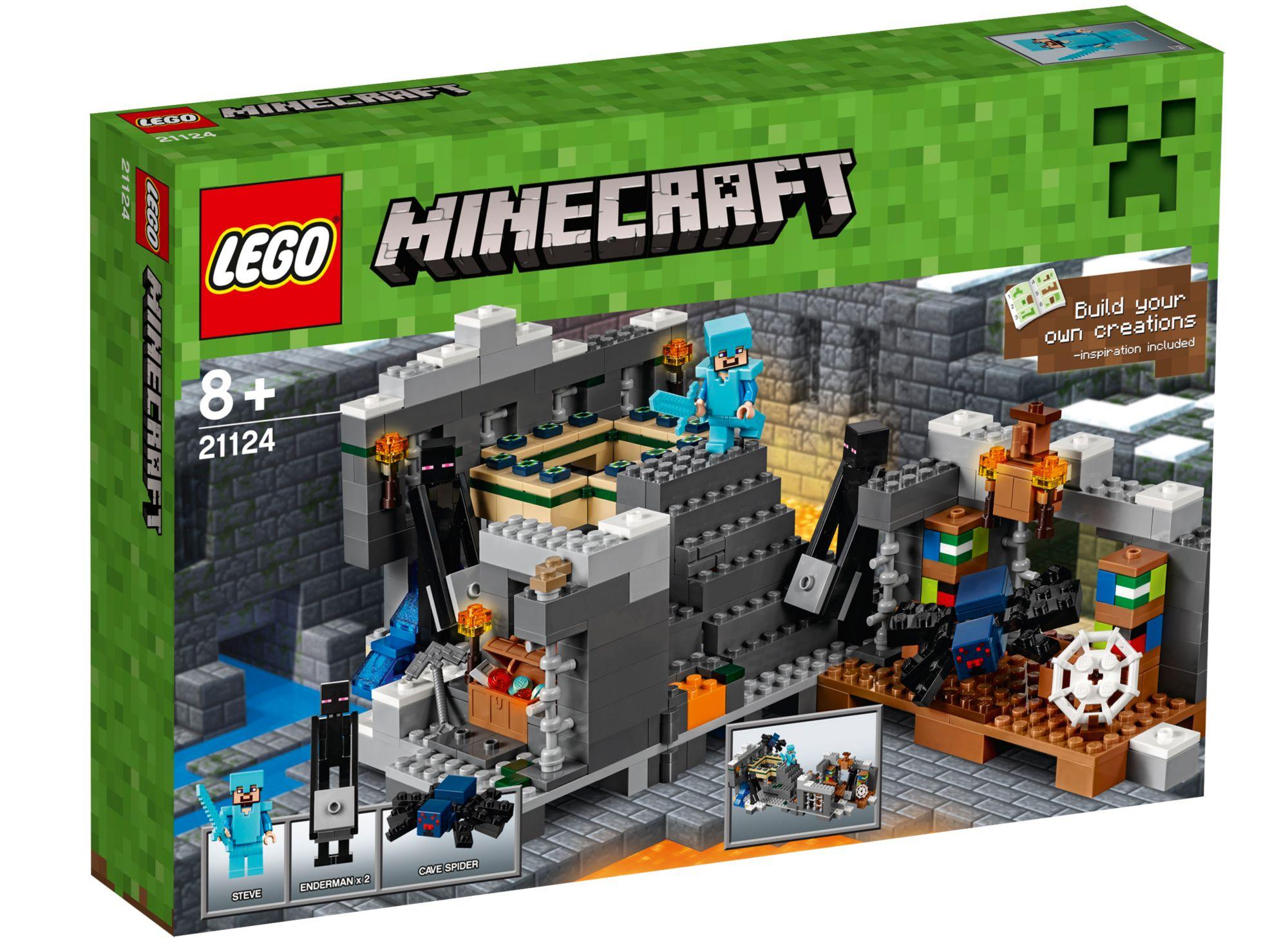 LEGO® 21124 Minecraft Das End-Portal, Konstruktionsspielzeug