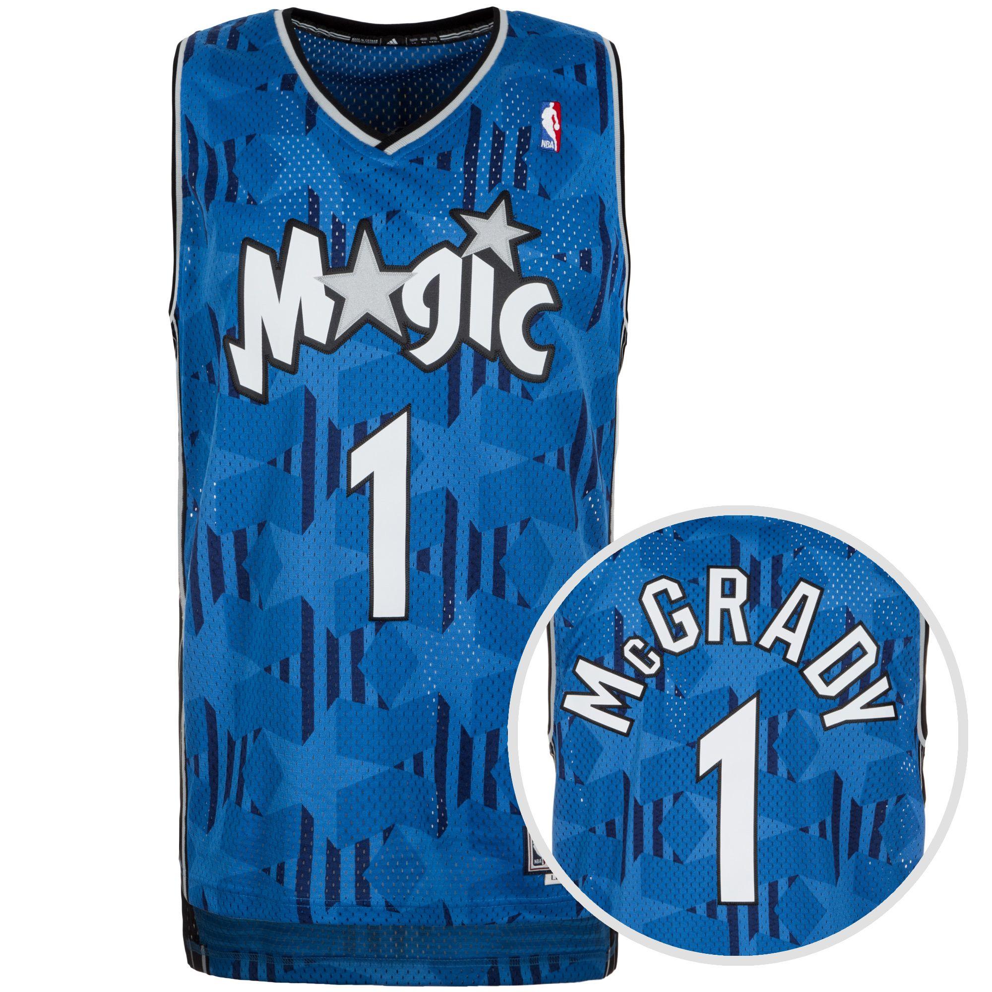 ADIDAS PERFORMANCE adidas Performance Orlando Magic McGrady Swingman Basketballtrikot Herren