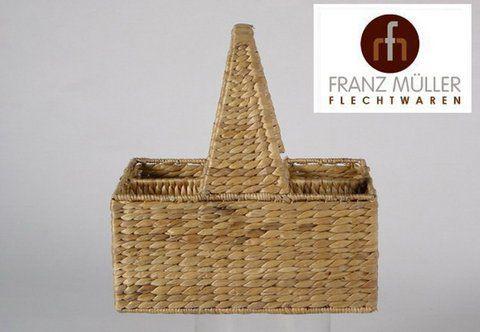FRANZ MÜLLER FLECHTWAREN Flaschenkorb, Franz Müller