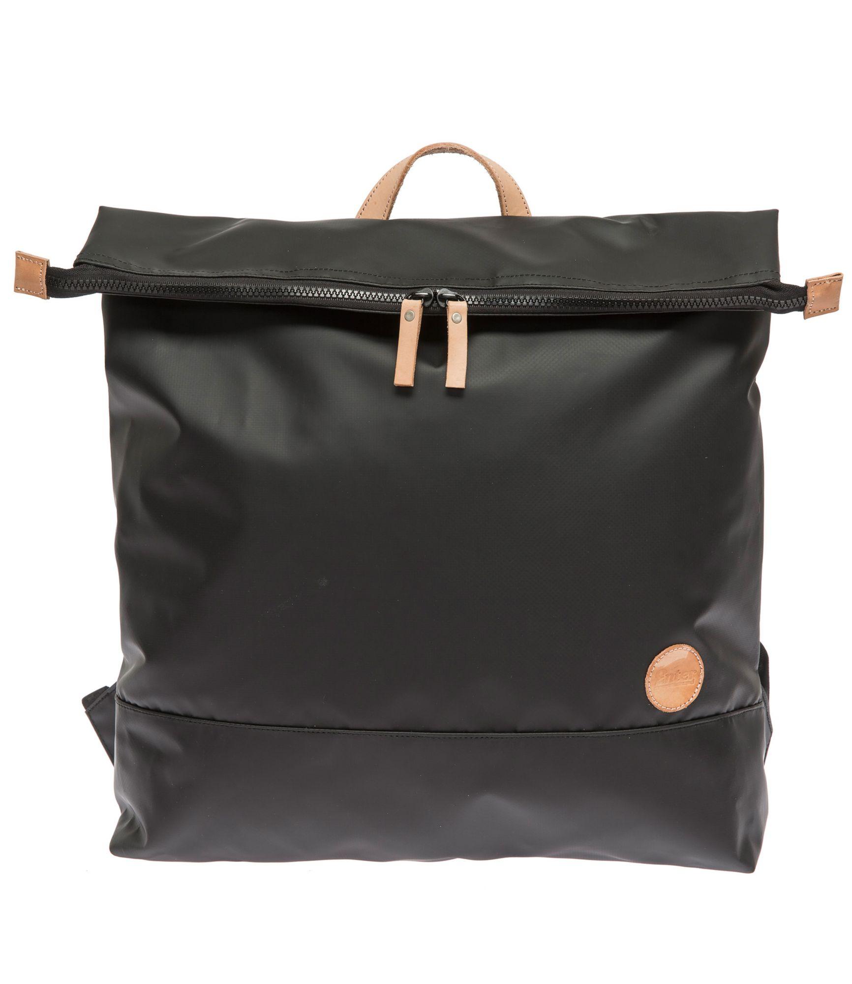 ENTER Enter Wasserabweisender Rucksack, »Top Zip Backpack, Black/Natural«