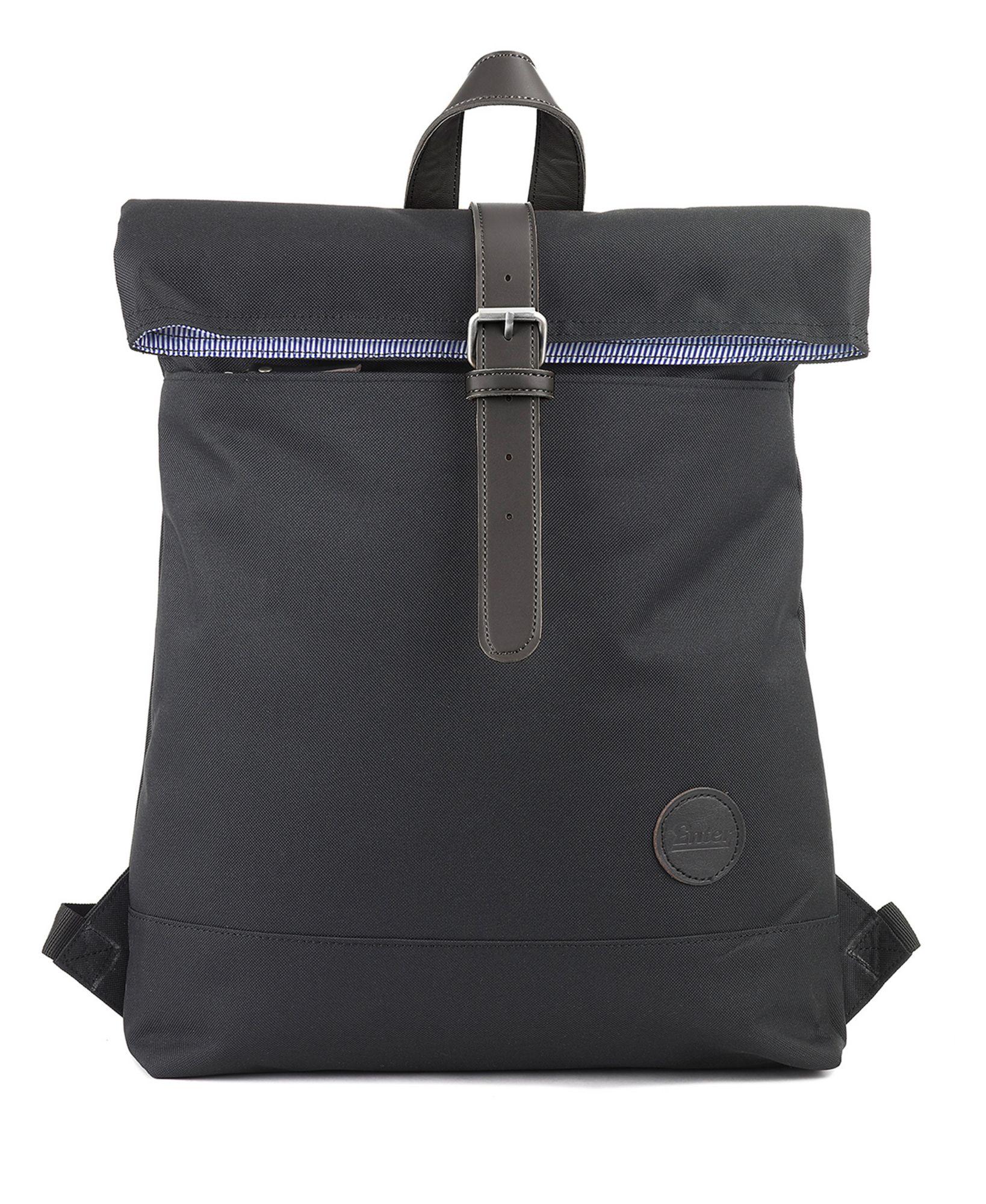 ENTER Enter Rucksack, »Fold Top Backpack, Black«