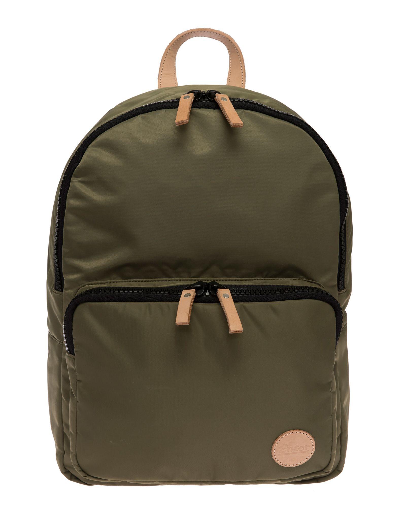 ENTER Enter Street-Style-Rucksack, »Gym Backpack, Army Green/Natural«