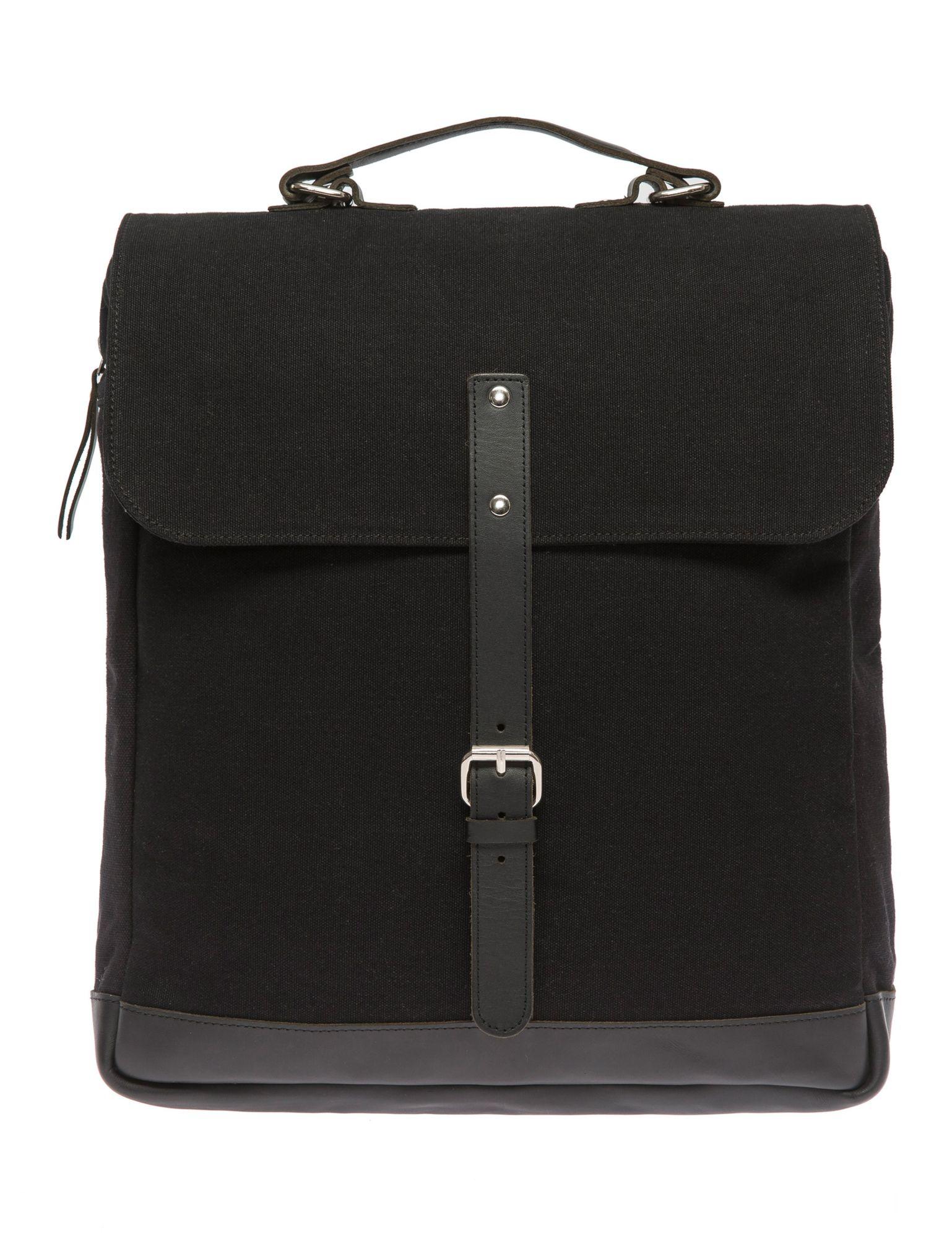 ENTER Enter Messenger Rucksack, »Messenger Backpack, Black«