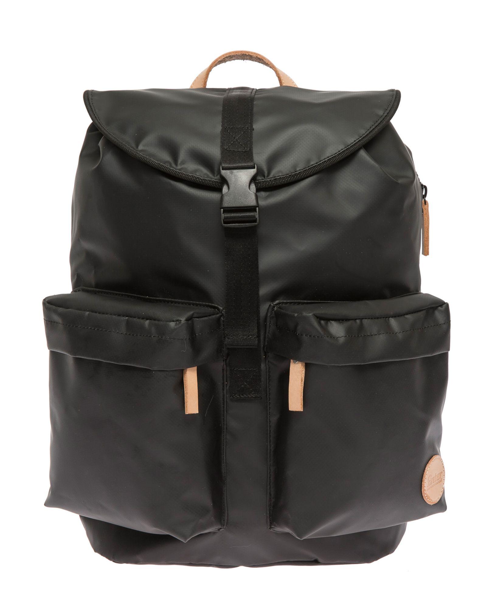 ENTER Enter Wasserabweisender Rucksack, »Hiker Backpack, Black/Natural«