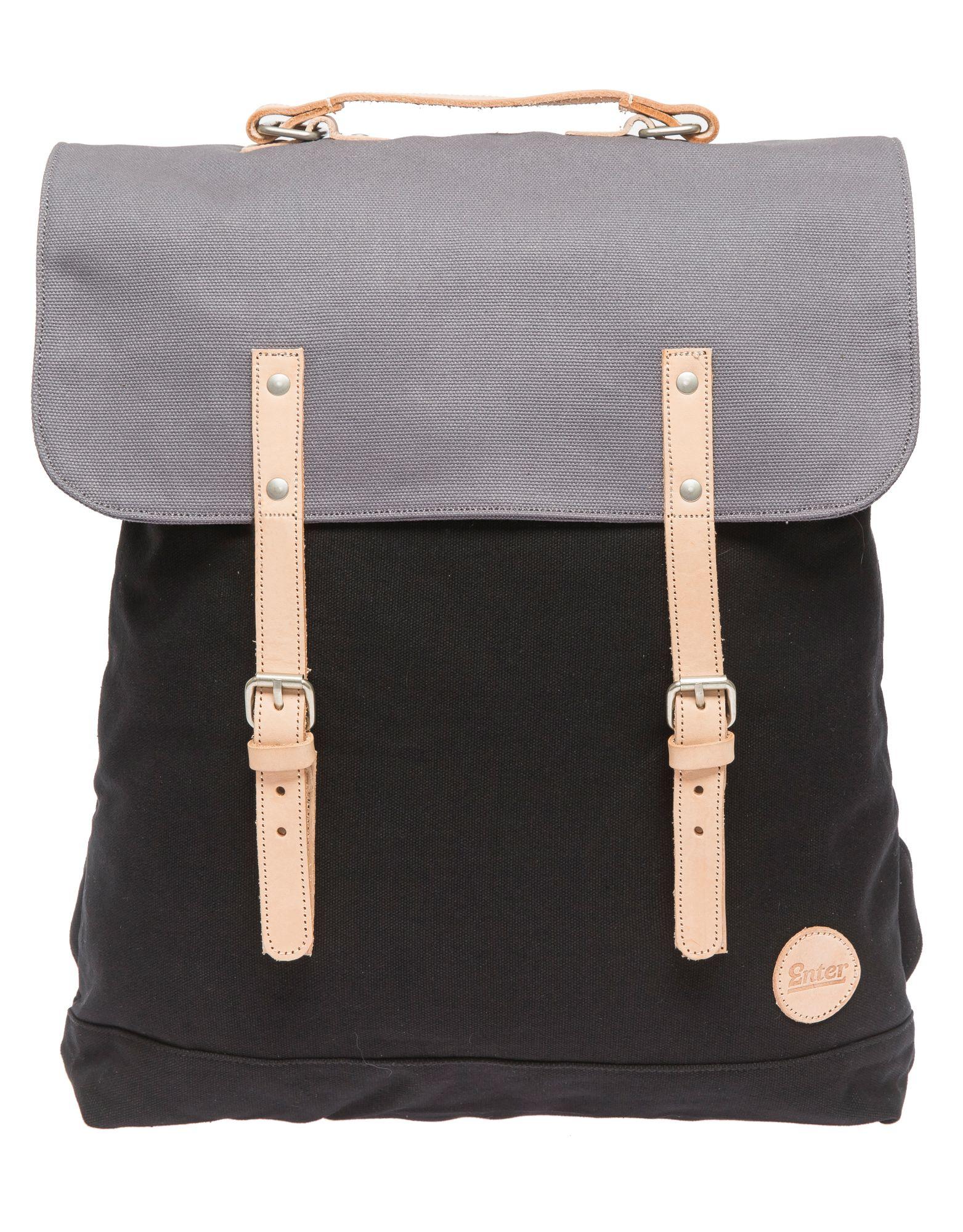 ENTER Enter Rucksack mit 17 Zoll Laptopfach, »Backpack, Black/Grey«