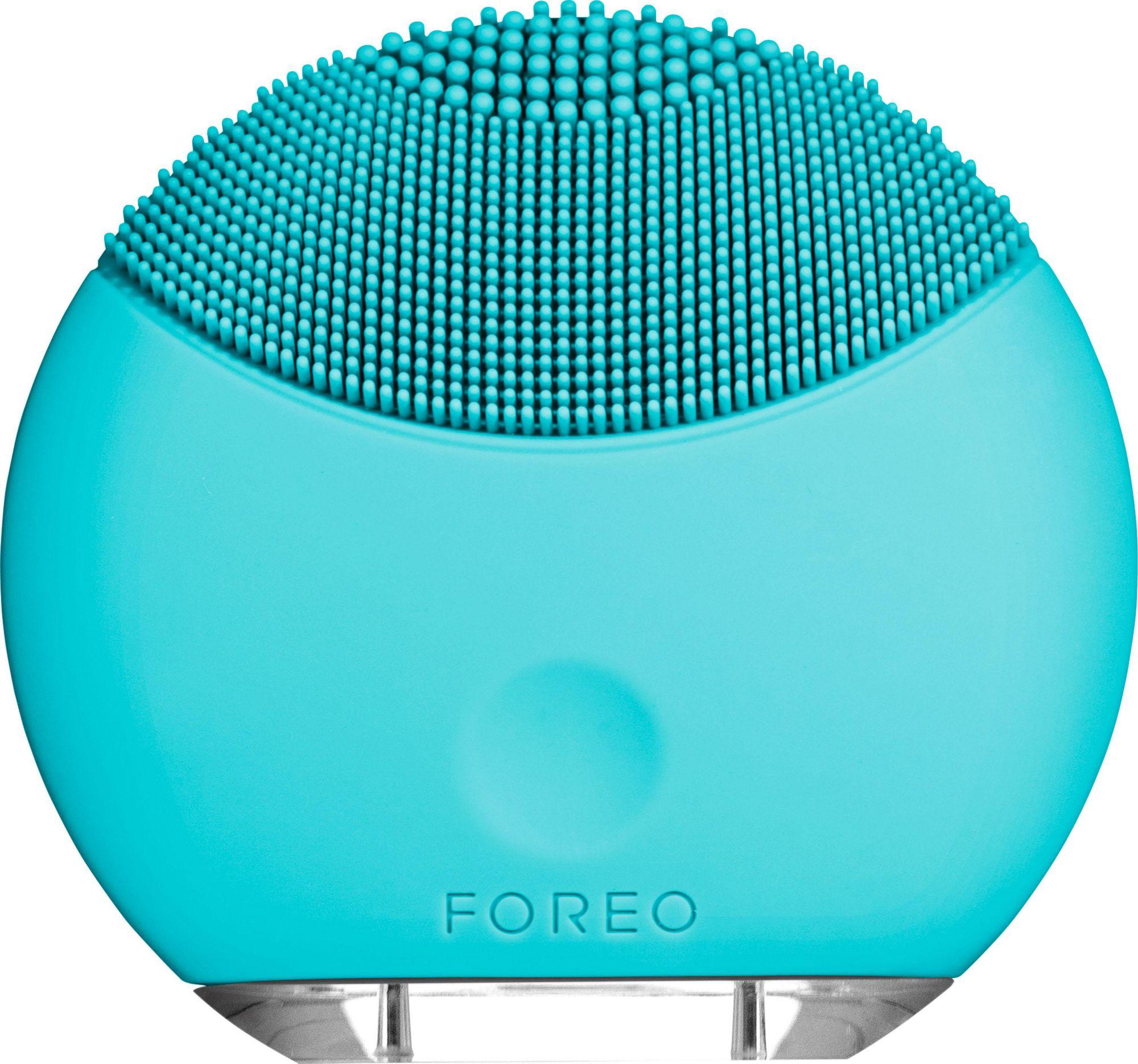 FOREO Foreo Gesichtsreinigungsbürste LUNA? mini Turquoise Blue, kompakt & stylish
