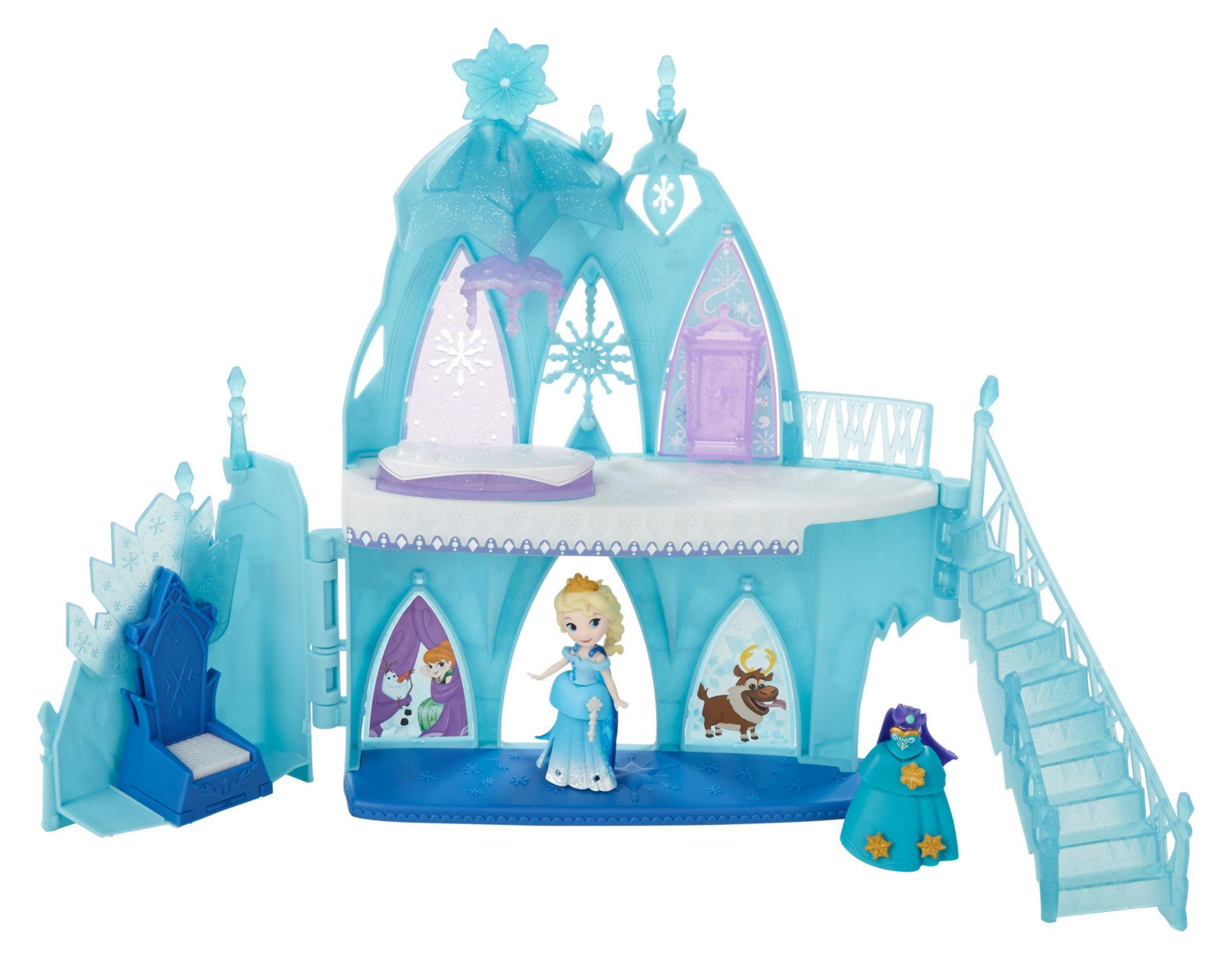 HASBRO Disney Die Eiskönigin Lit. Kingdom Elsas Eispalast, Spielfigur