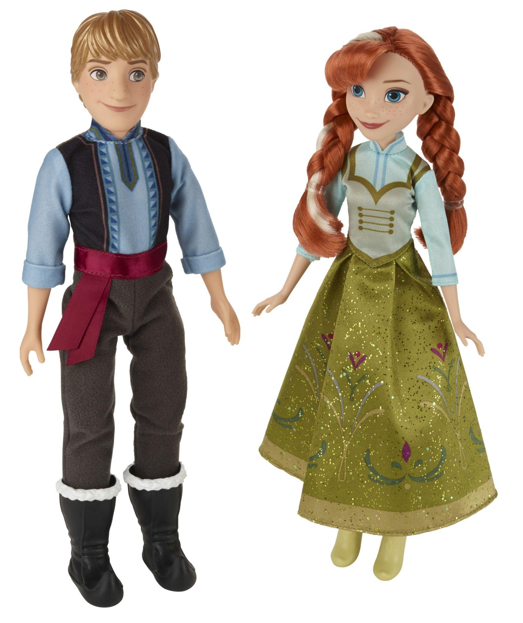 HASBRO Disney Die Eiskönigin Anna & Kristoff, Puppe