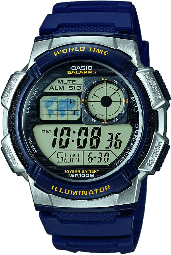 CASIO COLLECTION Casio Collection Chronograph »AE-1000W-2AVEF«
