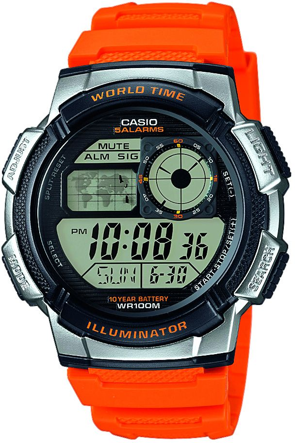 CASIO COLLECTION Casio Collection Chronograph »AE-1000W-4BVEF«