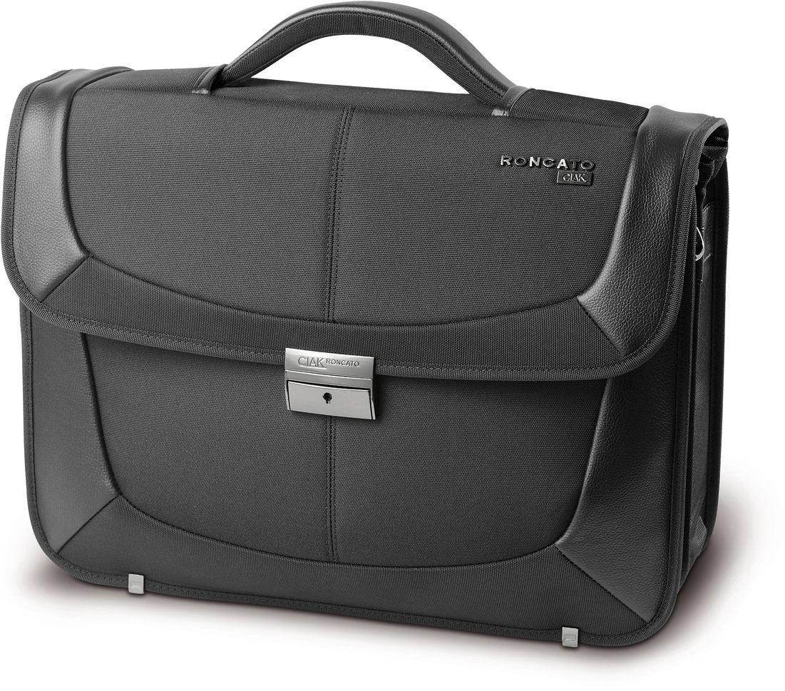 CIAK RONCATO CIAK Roncato Aktentasche mit 2 Fächern und 15,6-Zoll Laptopfach, »B-Smart«