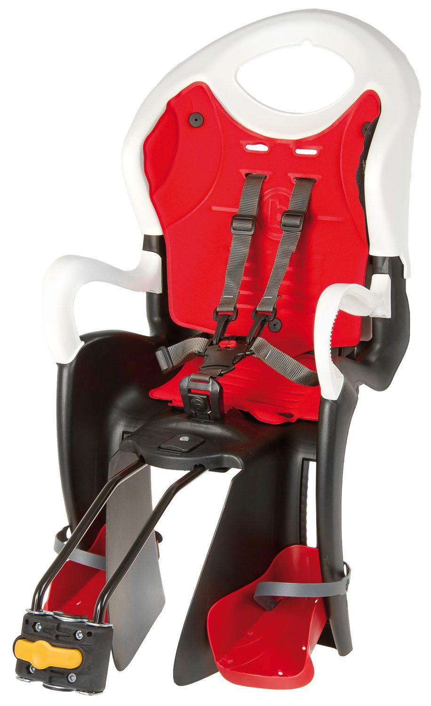BELLELLI Bellelli Kindersitz mit höhenverstellbarer Rückenlehne, Sitzrohrbefestigung