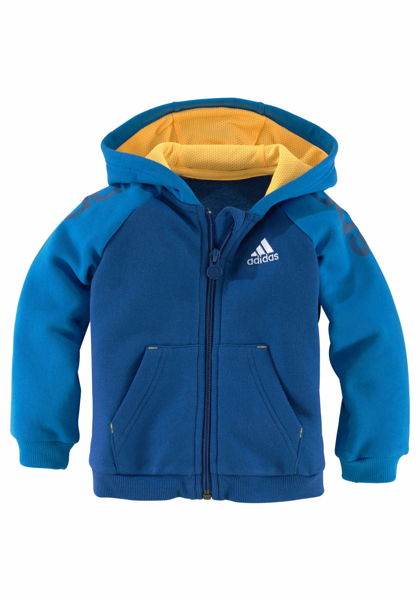 ADIDAS PERFORMANCE adidas Performance Jogginganzug »INFANTS 3 STRIPES FULL ZIP HOODIE TRACKSUIT«