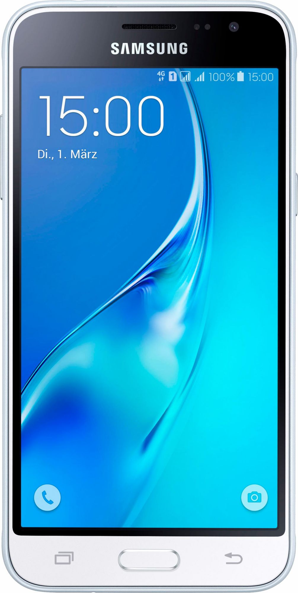 SAMSUNG .Samsung GALAXY J3 (2016) Duos J320FD weiß Android Smartphone