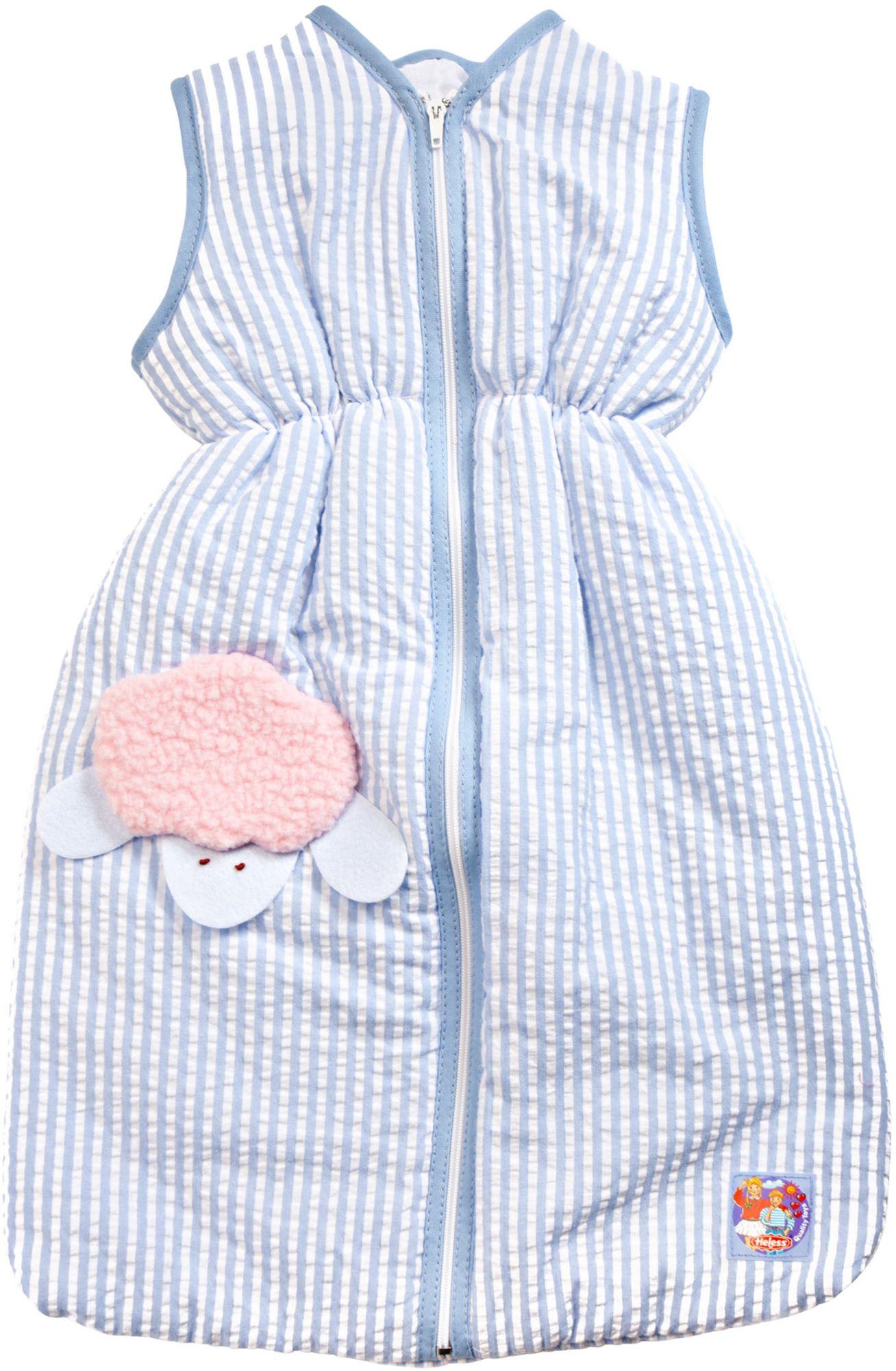 HELESS® Heless® Puppenzubehör, 37 cm, »Schlafsack blau«