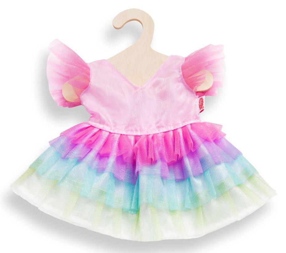 HELESS® Heless® Puppenkleid Größe 28-35 o. 35-45 cm, »Regenbogenfee«