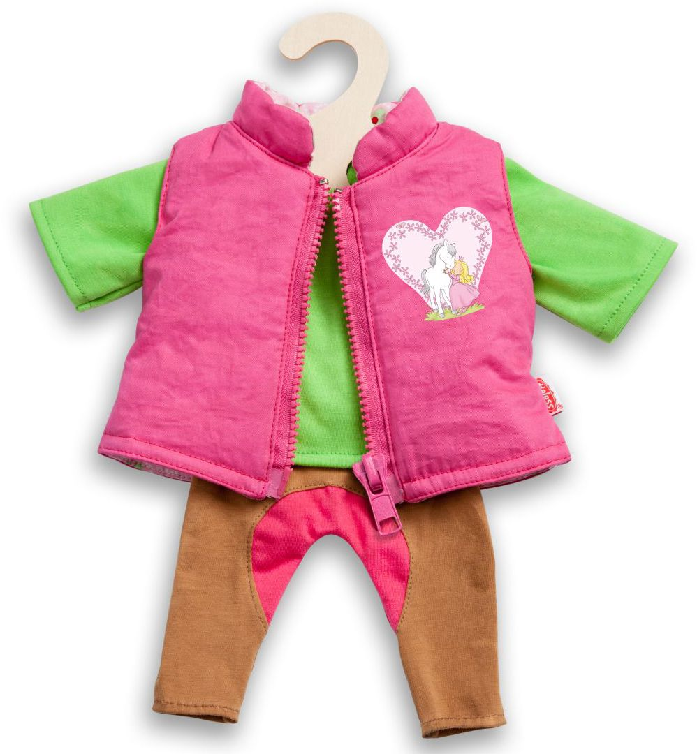 HELESS® Heless® Puppenkleidung Größe 28-35 o. 35-45 cm, »Reiteroutfit« (3tlg.)