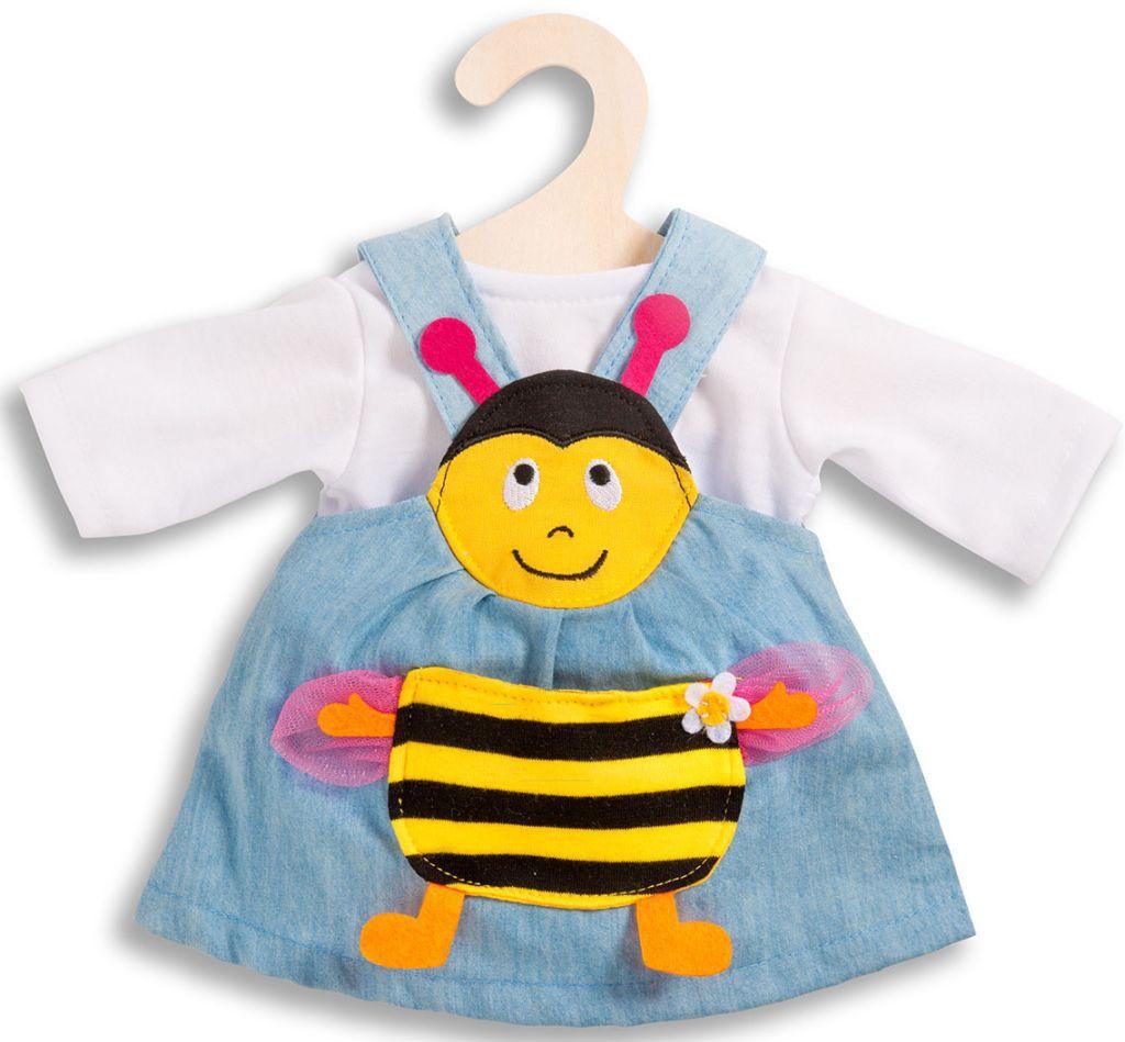 HELESS® Heless® Puppenkleid für 28-35 o. 35-45 cm, »Bienenkleid« (2tlg.)