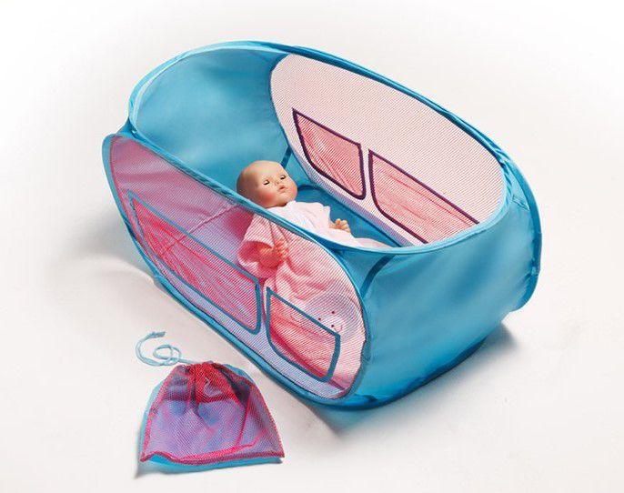 HELESS® Heless® Puppenreisebett mit Aufbewahrungstasche