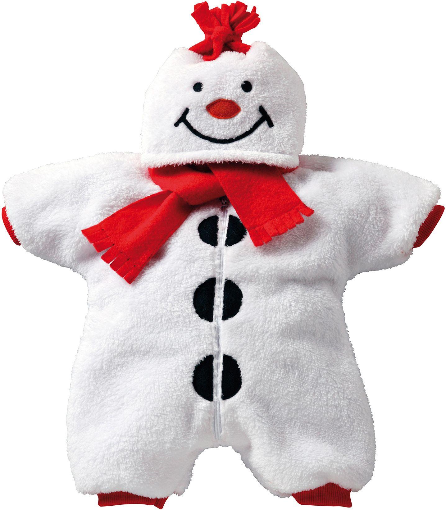 HELESS® Heless® Puppenbekleidung Winteranzug Größe 35-46 cm, »Schneemann«