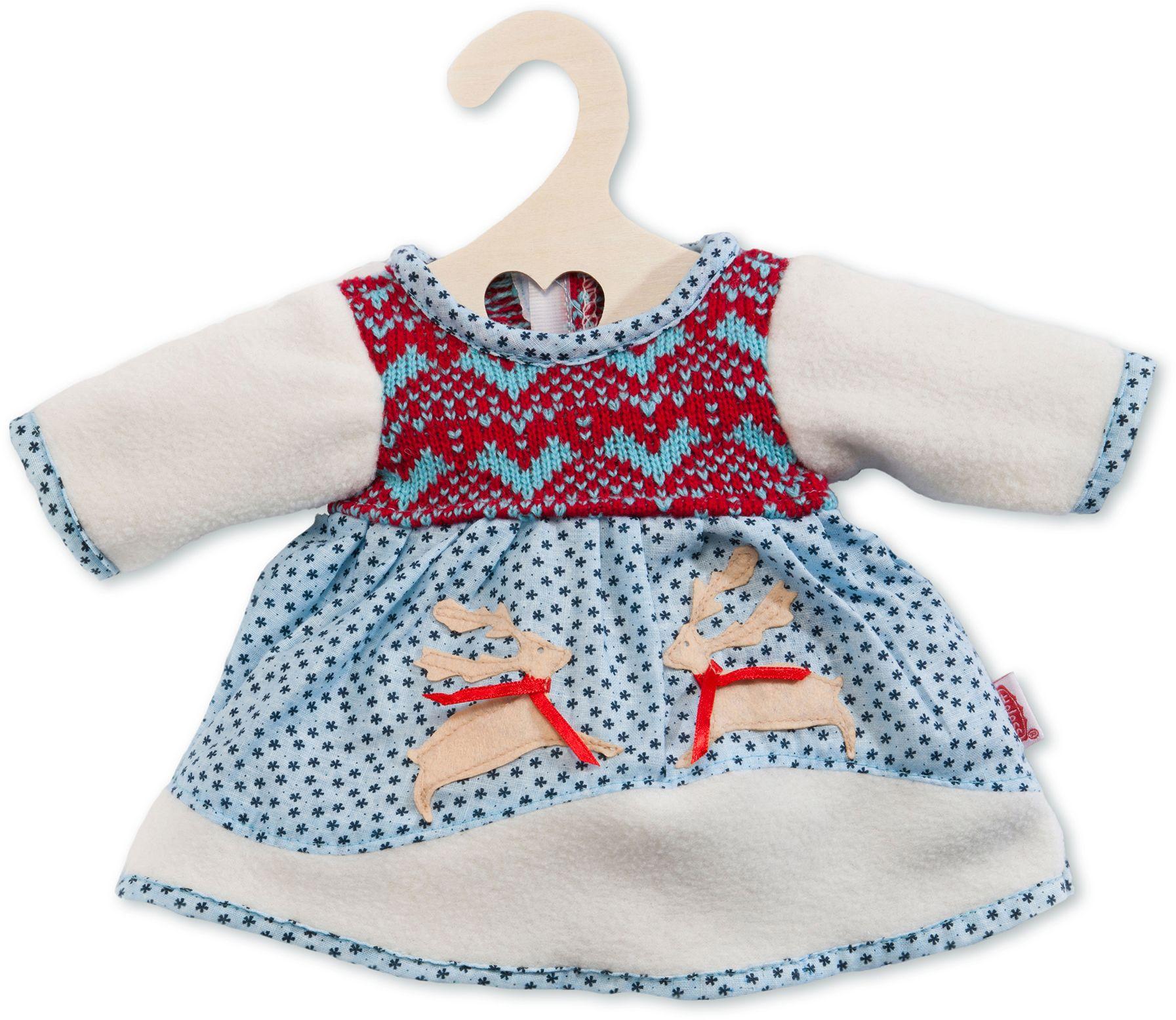 HELESS® Heless® Puppenkleidung Größe 28-33 cm o. 35-45 cm, »Winterkleid«