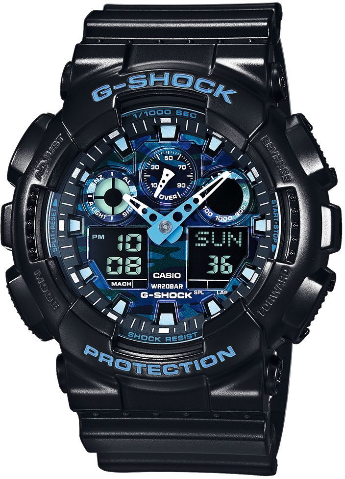 CASIO G SHOCK Casio G-Shock Chronograph »GA-100CB-1AER«