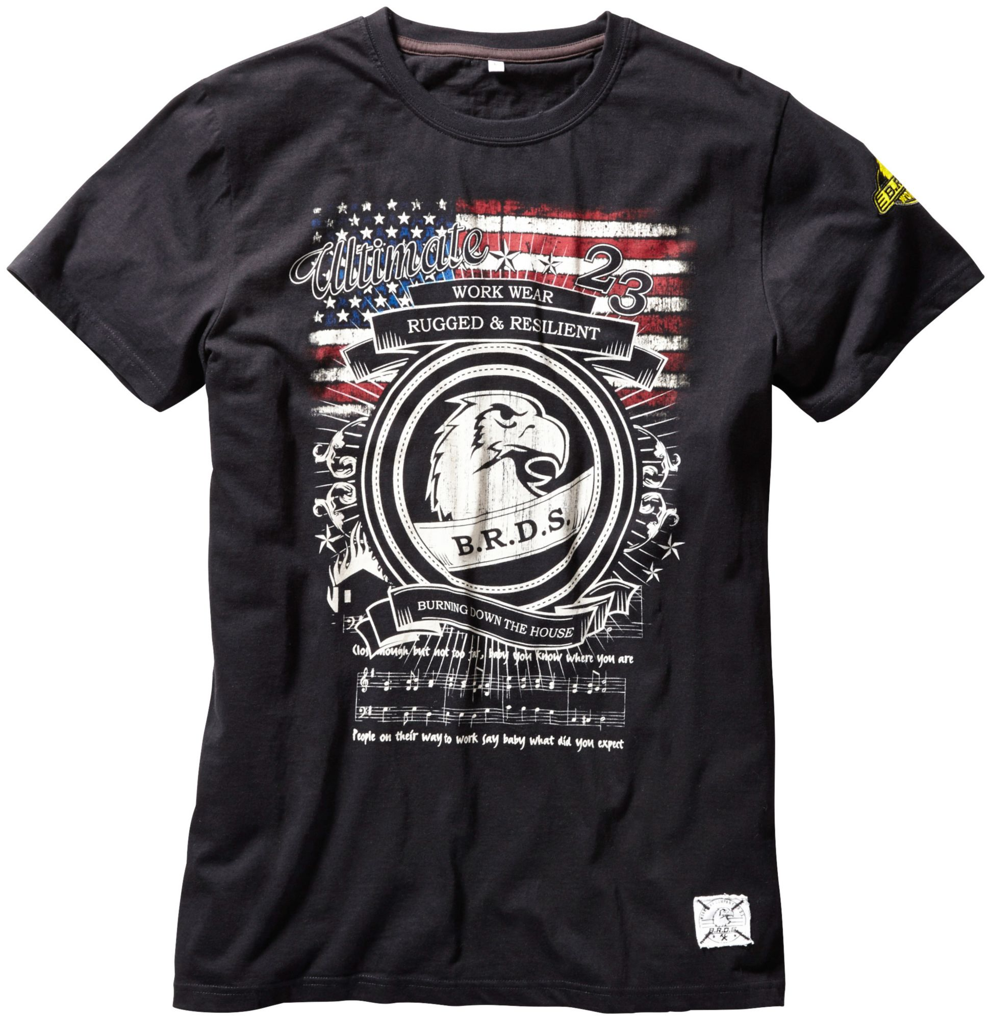 BRDS WORKWEAR B.R.D.S. Workwear T-Shirt Workwear »USA«