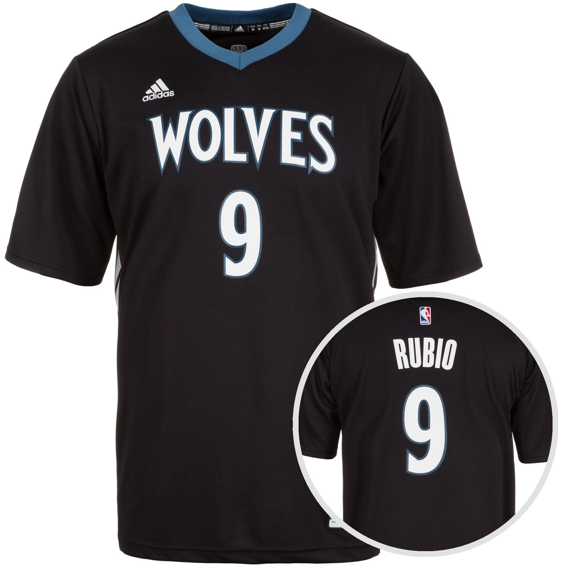 ADIDAS PERFORMANCE adidas Performance Minnesota Timberwolves Rubio Replica Basketballtrikot Herren