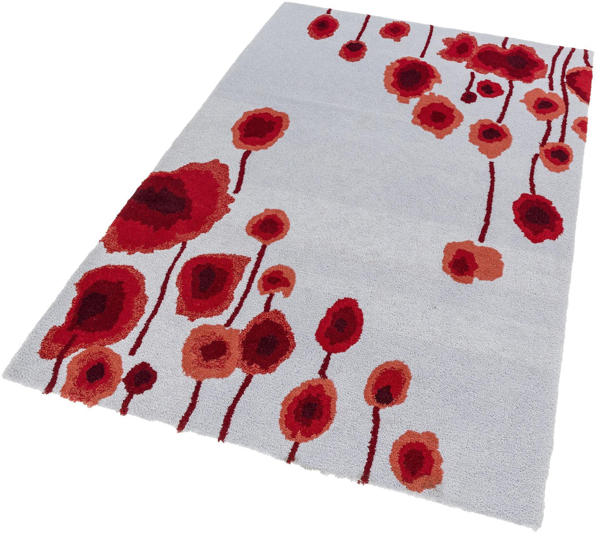 ASTRA Hochflor-Teppich, Astra, »Verona Blume«, Höhe 25 mm, getuftet