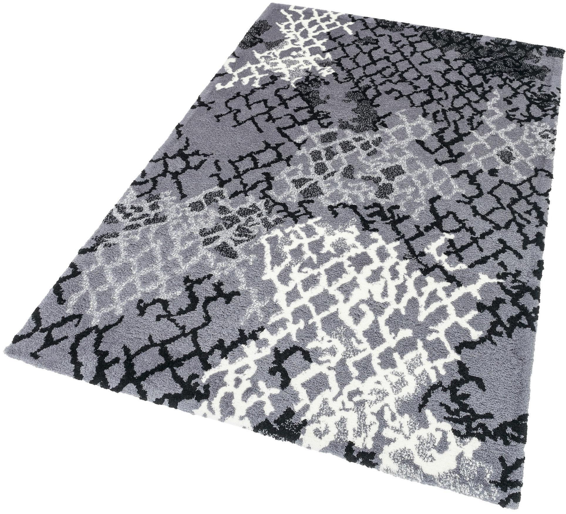 ASTRA Hochflor-Teppich, Astra, »Verona Netz«, Höhe 25 mm, getuftet