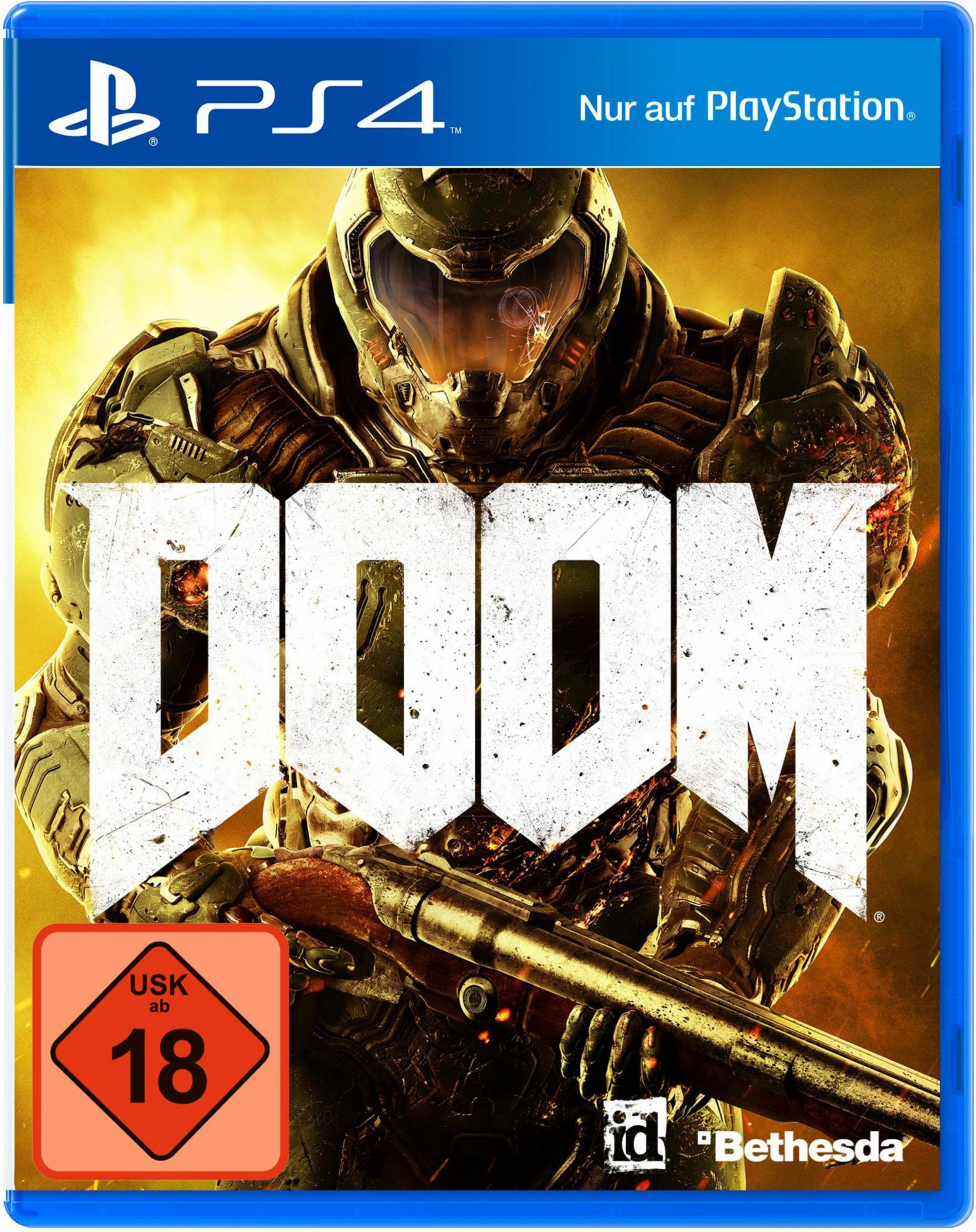 BETHESDA Doom Day One Edition 100% Uncut PlayStation 4
