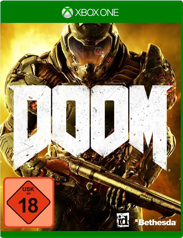 BETHESDA Doom Day One Edition 100% Uncut Xbox One