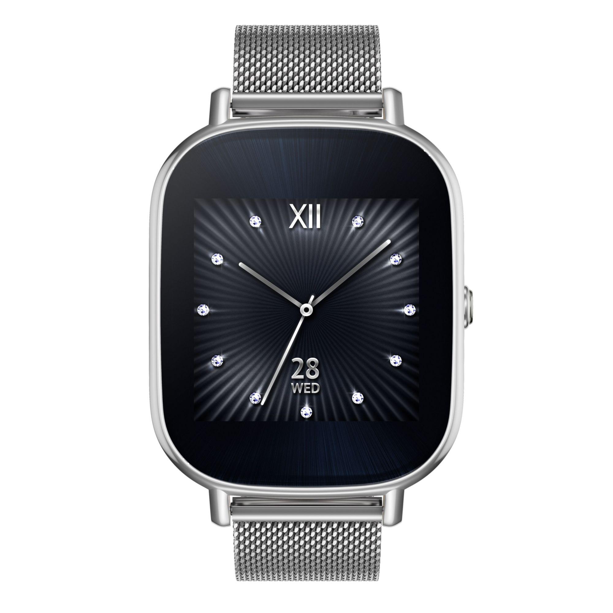 ASUS  Zenwatch 2 WI502Q-1MSIL0003 »512 MB, 4 GB, Metallarmband«